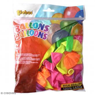 Ballon de baudruche Néon - 100 pcs