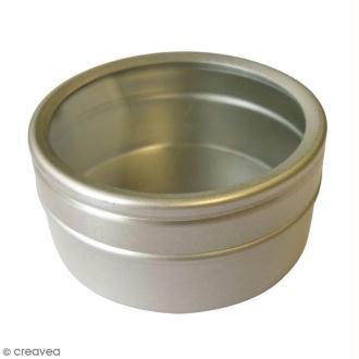 Boites aluminium - 5 x 2,5 cm - 9 pcs