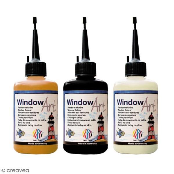 Peinture sur fenêtre - Window Art Contour Liner - 80 ml - Photo n°1