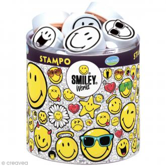 Kit de 38 tampons Stampo - Smiley World