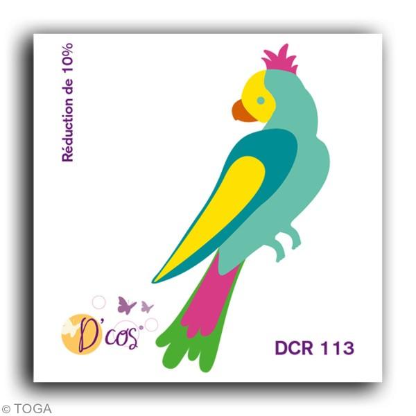 Die Toga D'COS Perroquet - 5 x 2 cm - Photo n°2