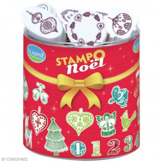 Kit de 34 tampons Stampo - Noël