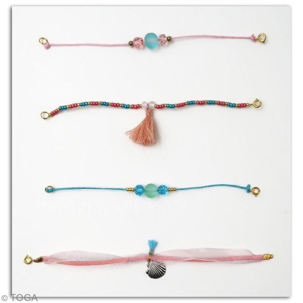 Kit bijoux Toga - Bracelet d'amitié Sirène - 4 pcs - Photo n°3
