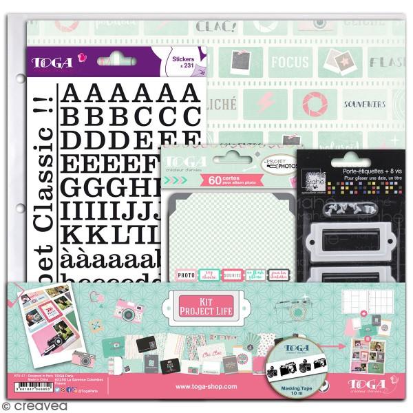Kit déco scrapbooking Toga - Clic Clac - Photo n°1