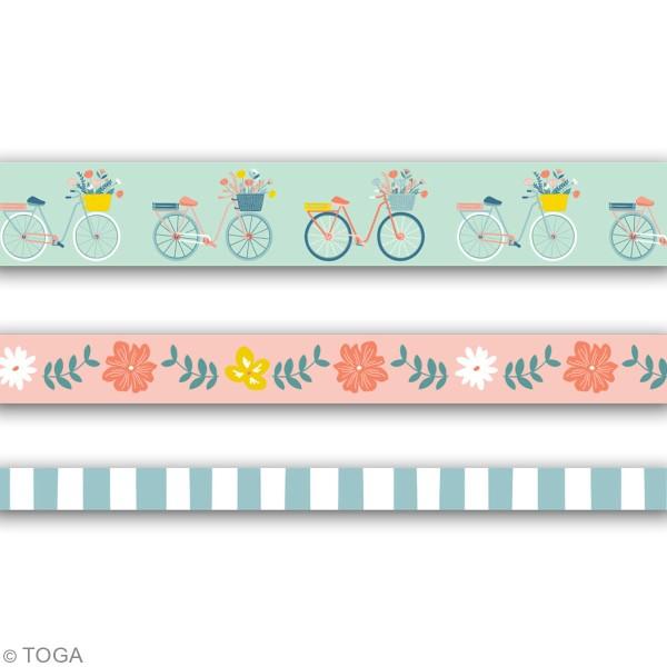 Masking tape Toga - Oh La La - 3 pcs - Photo n°3