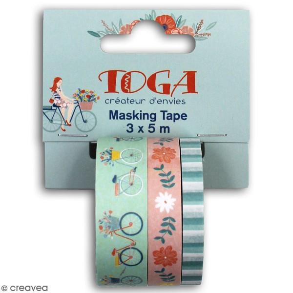 Masking tape Toga - Oh La La - 3 pcs - Photo n°1