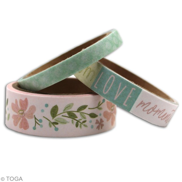 Masking tape Toga - Maison de Campagne - 3 pcs - Photo n°2