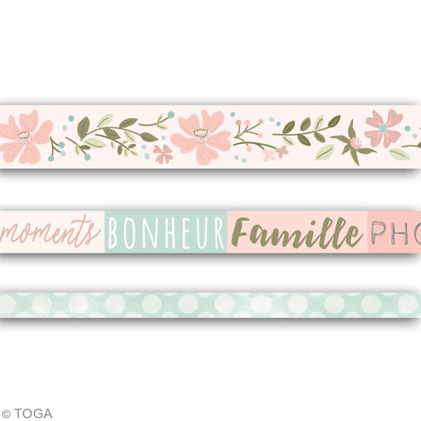 Masking tape Toga - Maison de Campagne - 3 pcs - Photo n°3