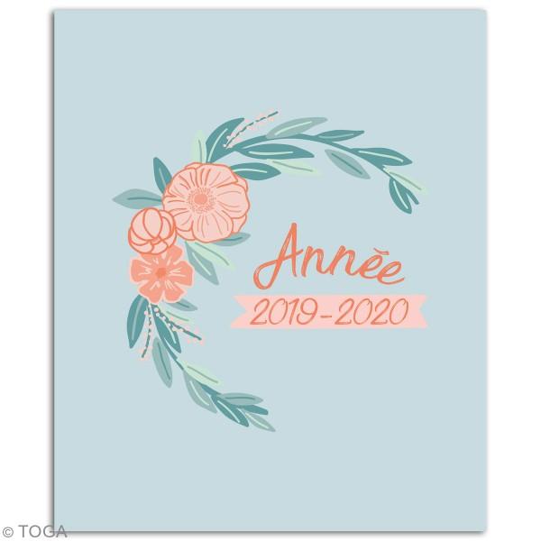 Agenda Familial 2019/2020 à décorer - 20 x 24,5 cm - Photo n°2