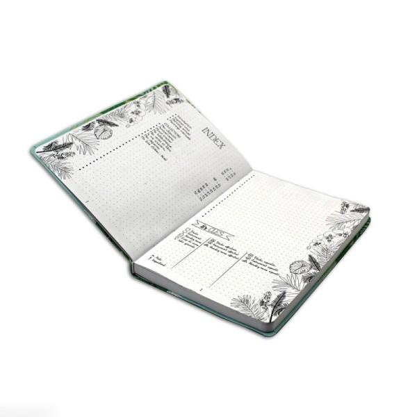 Kit Bullet Journal Toga - Carnet 15,5 x 21,5 cm - 6 pcs - Photo n°6