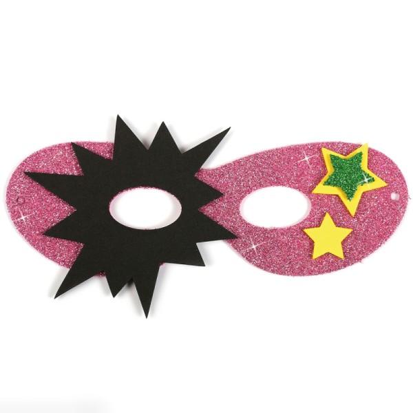 Assortiment de masques en papier mousse - Super héros - 12 pcs - Photo n°4