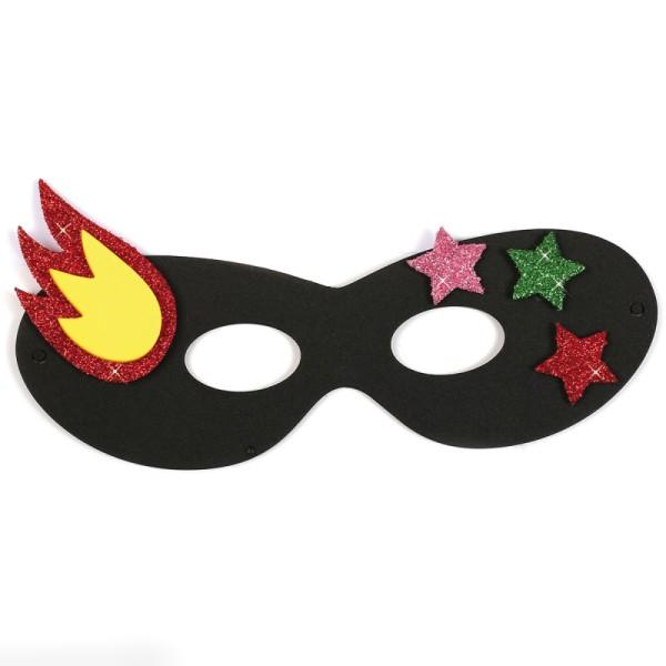 Assortiment de masques en papier mousse - Super héros - 12 pcs - Photo n°5