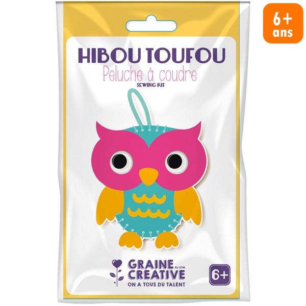 Kit peluche à coudre débutant - Hibou - Photo n°1