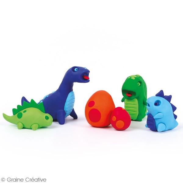Set Patagom Graine Créative - Dinosaures - 6 pains - Photo n°2