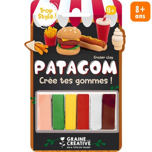 Set Patagom Graine Créative - Nourriture - 6 pains - Photo n°1