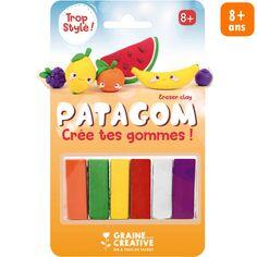 Coffret Patagom Graine Créative - Fruit - 6 douleurs