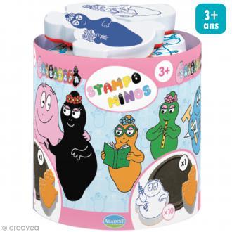 Kit de 10 tampons Stampo Minos - Barbapapa - Dès 3 ans et +