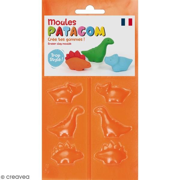 Moules Patagom Graine Créative - Dinosaures - 3 pcs - Photo n°1