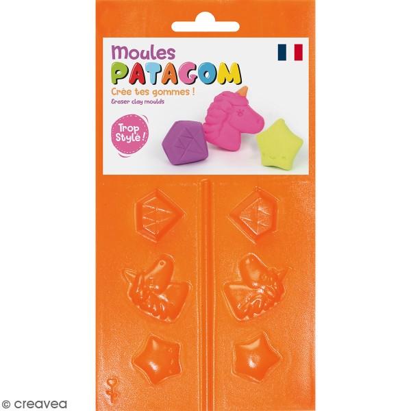 Moules Patagom Graine Créative - Licorne - 3 pcs - Photo n°1