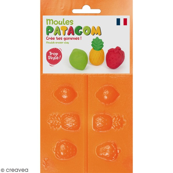 Moules Patagom Graine Créative - Fruits - 3 pcs - Photo n°1