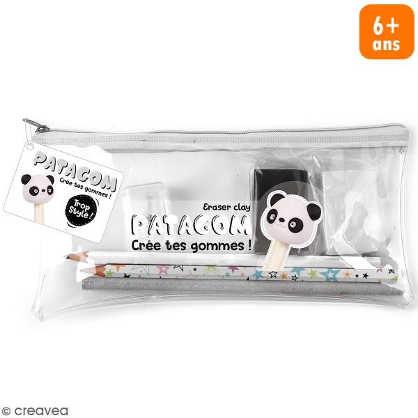 Kit trousse transparente Patagom - Panda - 7 pcs - Photo n°1