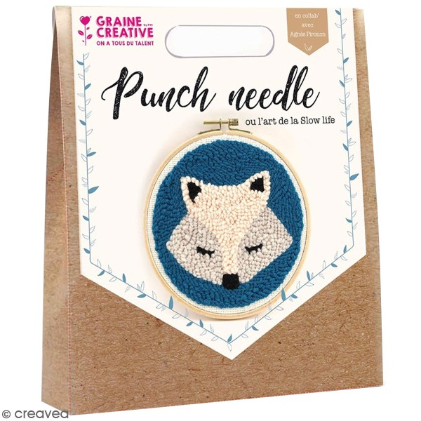 Kit punch needle - Renard - Photo n°1