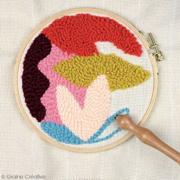 Kit punch needle - Abstrait - Photo n°2