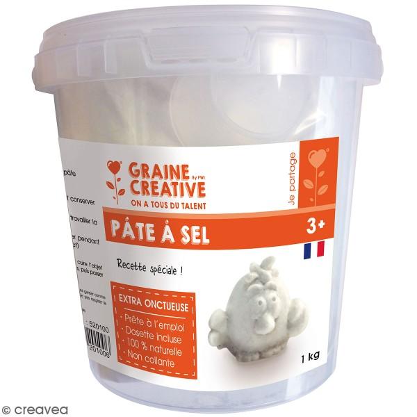 Seau de Pâte à sel à mélanger - 1 kg - Photo n°1