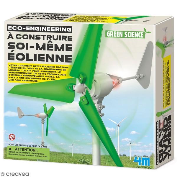 Kit Green science - Eolienne à construire soi-même - Photo n°1