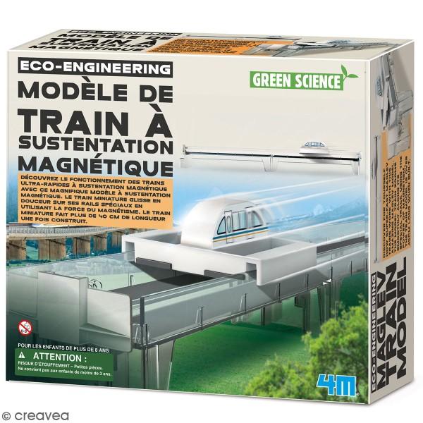 Kit Green science - Modèle de train à sustentation magnétique - Photo n°1