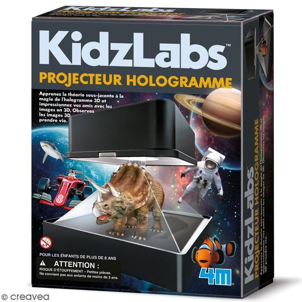 Kit Scientifique Kidz Labs - Fabrique un projecteur d'hologramme - Photo n°1