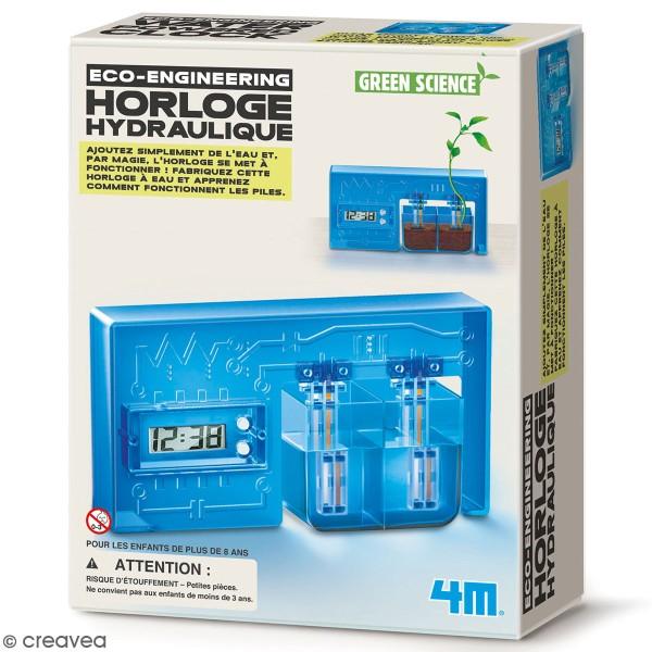 Kit Green science - Horloge hydraulique à monter - Photo n°1