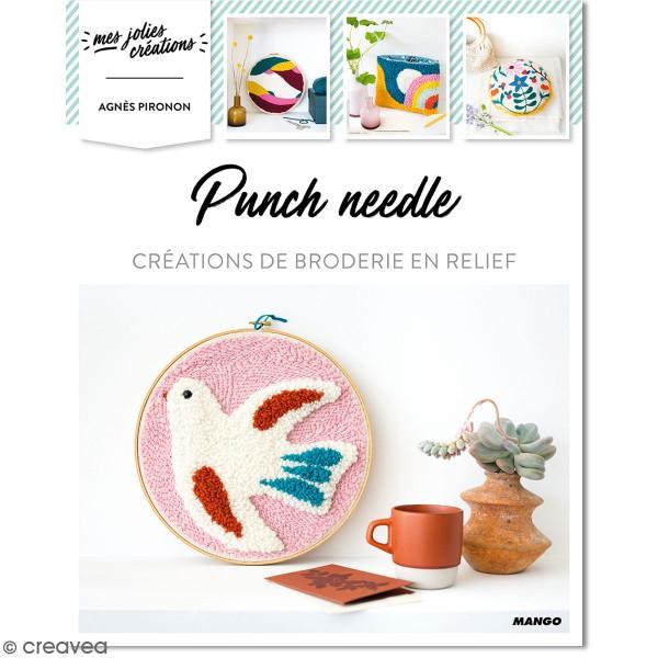 Livre Punch Needle - Créations de broderie en relief - Photo n°1
