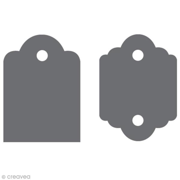 Machine à étiquette - Tag Maker Fiskars - Standard & Festonné - 4,5 cm - Photo n°2