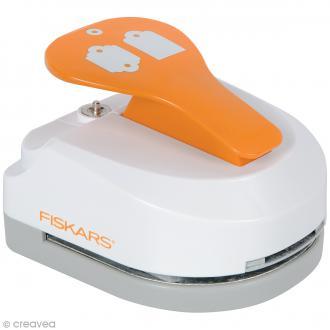 Machine à étiquette - Tag Maker Fiskars - Standard & Festonné - 4,5 cm