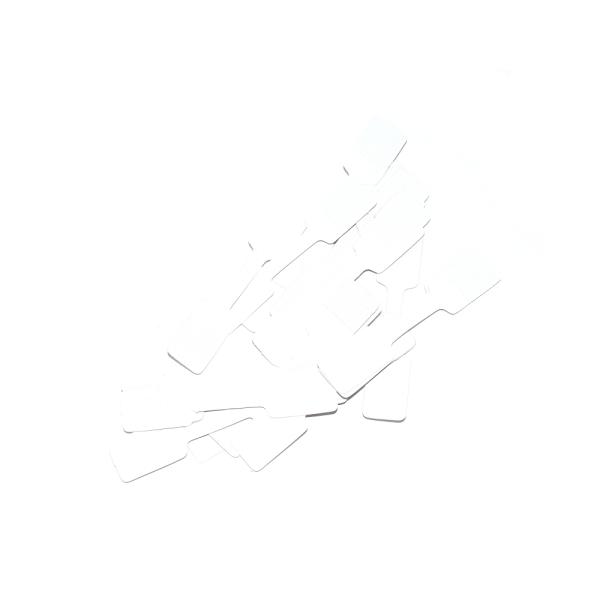 Etiquette prix autocollant blanc x50 - Photo n°1