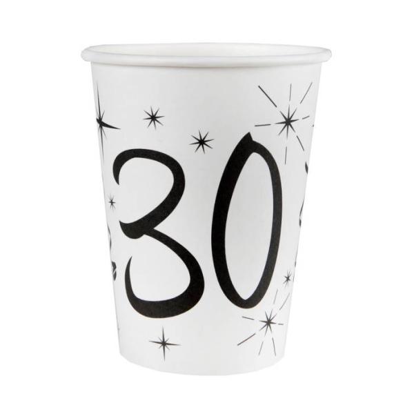 20 Gobelets anniversaire 30 ans - Photo n°1
