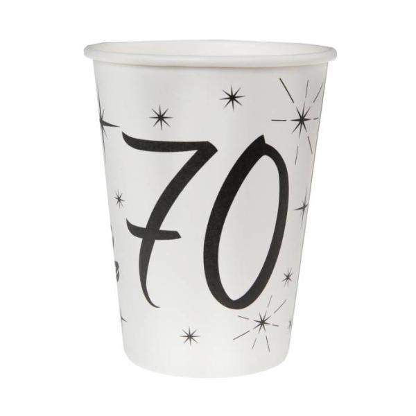 20 Gobelets anniversaire 70 ans - Photo n°1