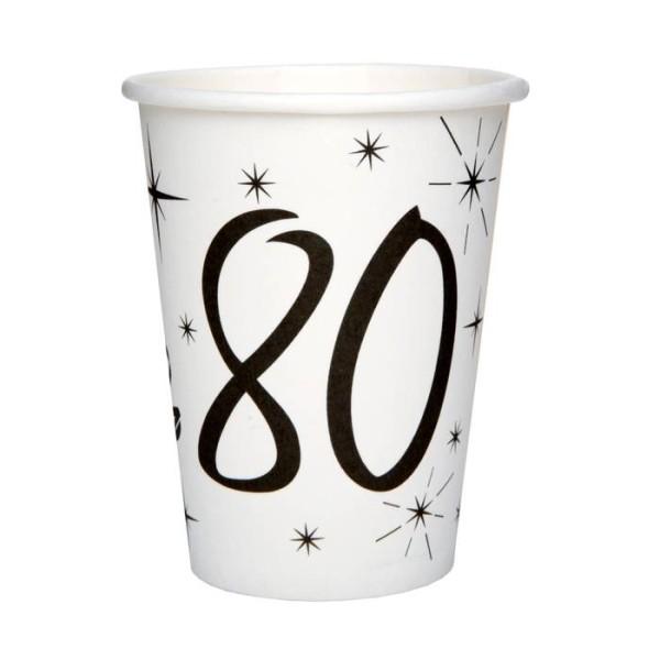 20 Gobelets anniversaire 80 ans - Photo n°1