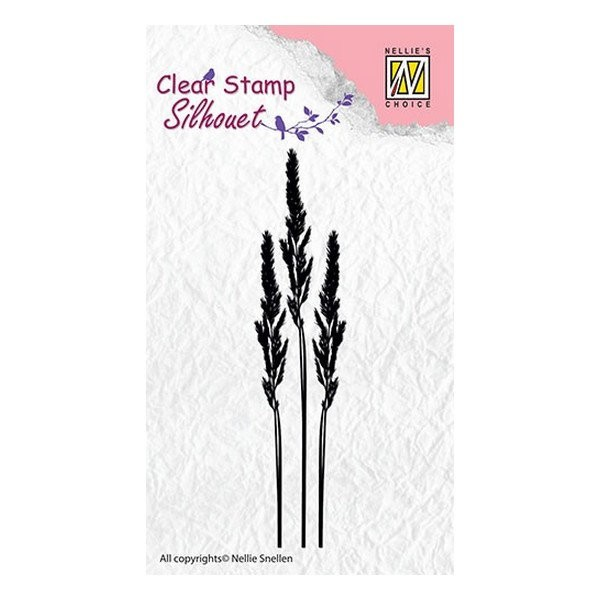 Tampon transparent clear stamp scrapbooking Nellie's Choice FLEUR 001 - Photo n°1