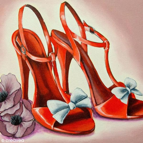 Image 3D Divers - Chaussures à talons rouges - 24 x 30 cm - Photo n°1