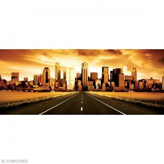 Image 3D Divers - USA Sépia - 20 x 50 cm