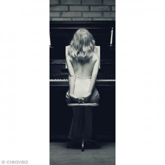Image 3D Divers - La pianiste - 20 x 50 cm