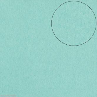 Papier scrapbooking Bazzill 30 x 30 cm - Lisse - Smoothies Waterfall (bleu cascade)