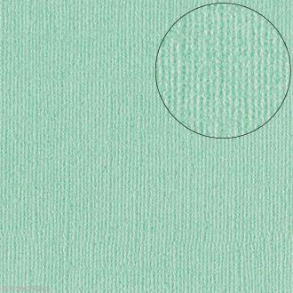 Papier scrapbooking Bazzill 30 x 30 cm - Pailleté - Bling Minted (vert glacé)