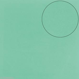 Papier scrapbooking Bazzill 30 x 30 cm - Mousse Adhésive - Vert d'eau