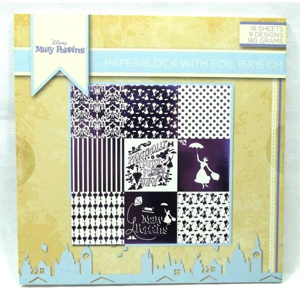 Diy Loisirs Créatifs Scrapbooking bloc feuilles papier 15 x 15 cm