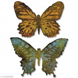 Matrice Sizzix Bigz Papillons - 2 pcs