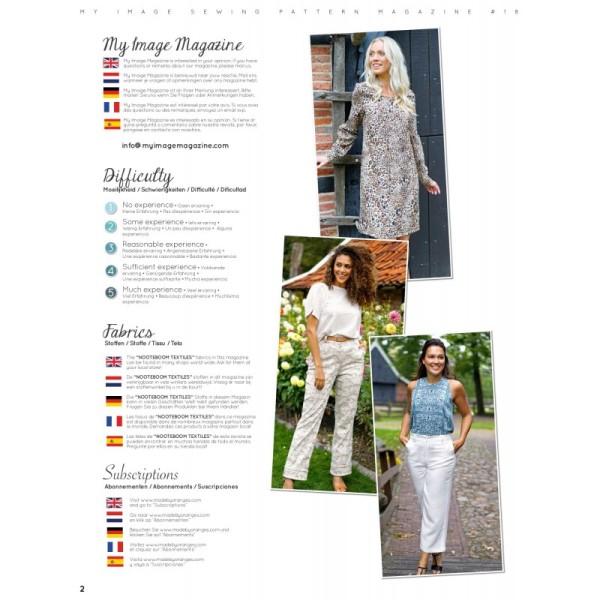 Magasine MY IMAGE pour femmes Printemps/été 2019 n°18 - Photo n°2