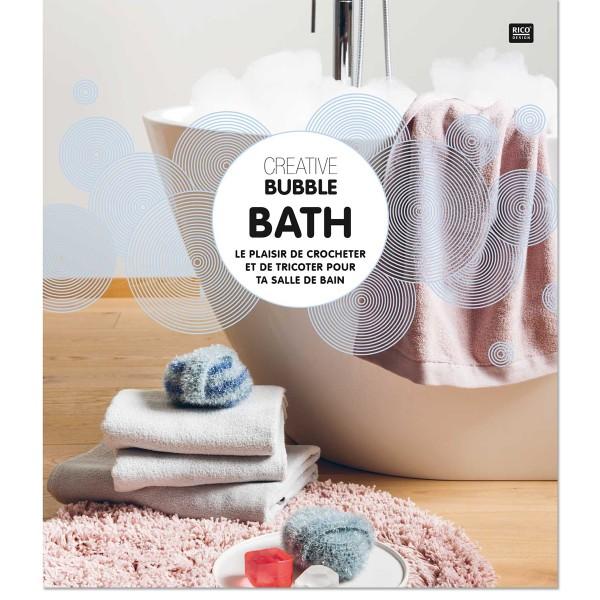 Livre Creative Bubble Eponges à crocheter - Thème Bath - 21 x 24 cm - Photo n°1